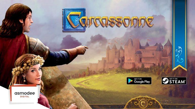 Carcassonne - GP and Steam Trailer EN