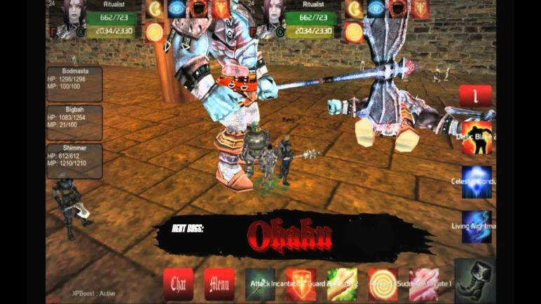 Catacombs Dungeon Speed Clear (player video) - 3D iPad,iPhone,Android,PC&Mac MMORPG World of Midgard