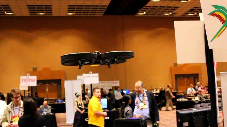 CES 2012: Parrot AR.Drone 2.0 Eyes-On