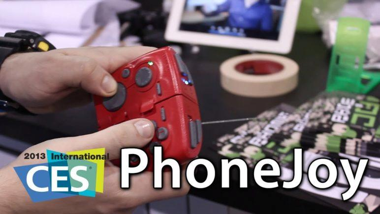 [CES 2013] PhoneJoy - Universal-Fit iOS And Mobile Gaming Controller