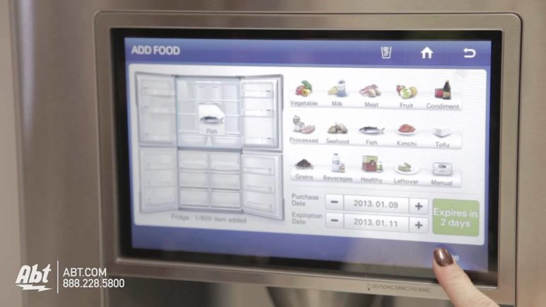 CES 2013 - Samsung T9000 Grocery Manager