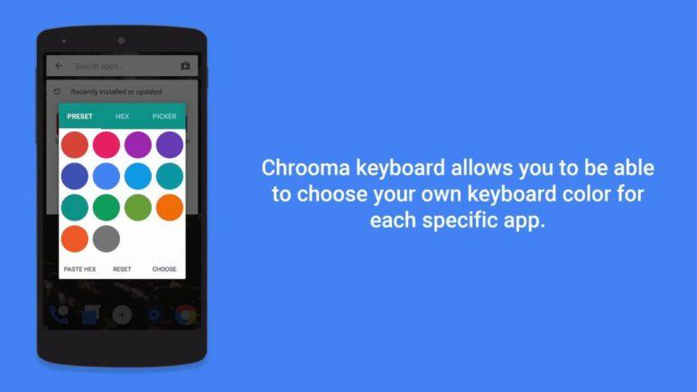 Chrooma Keyboard - Official Video Preview