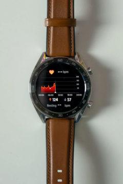 Chytre hodinky Huawei Watch GT LiteOS mereni tepu