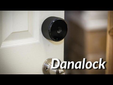 Chytrý zámek Danalock - konstrukce a ovládání