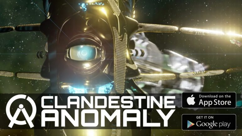Clandestine: Anomaly - Android Release Trailer