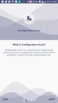 Configuration Score (Konfigurační skóre)