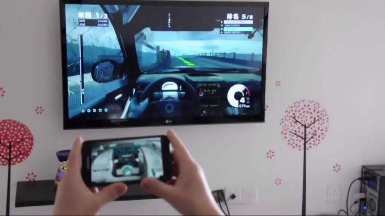 Control the PC racing game by your phone! Monect PC Motion Sensing Controller