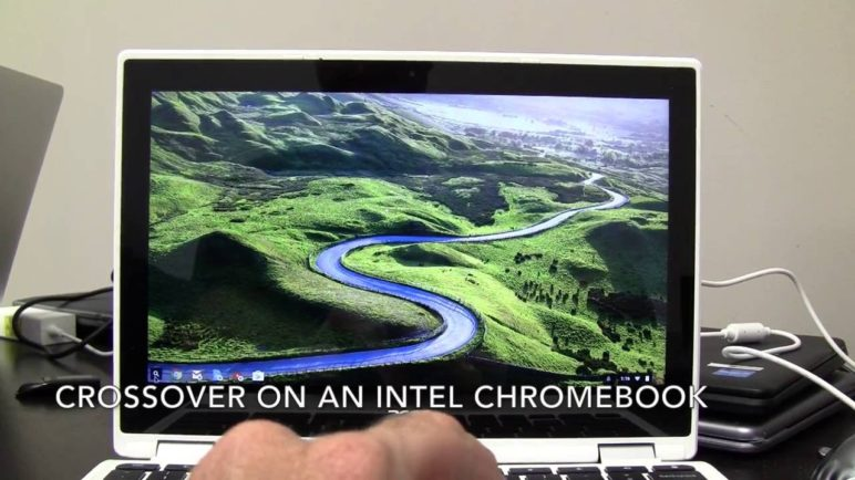 CrossOver on Chromebook - Unedited Realtime