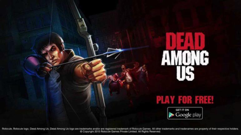 Dead Among Us - Official Trailer for Android