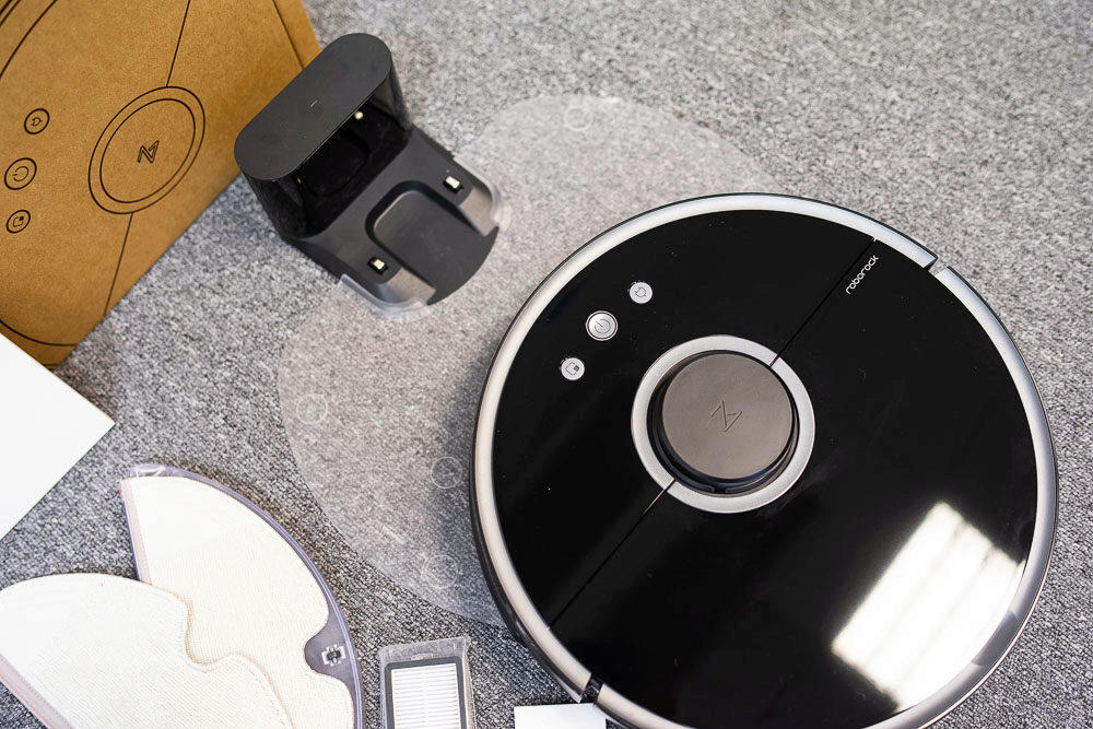 design robotického vysavače xiaomi