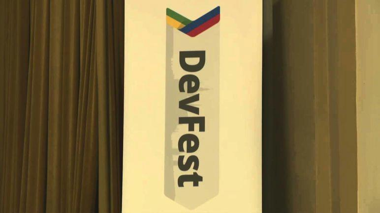 DevFest Praha 2013 LIVE - Sál Gutenberg