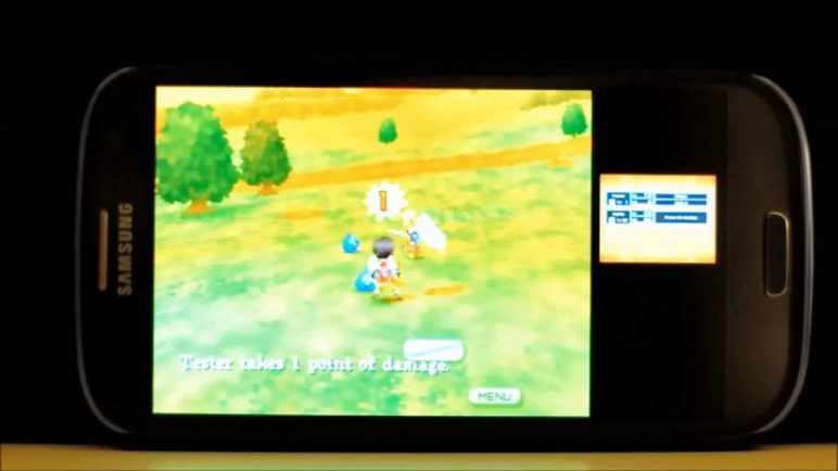 DraStic Nintendo DS emulator Android demo video