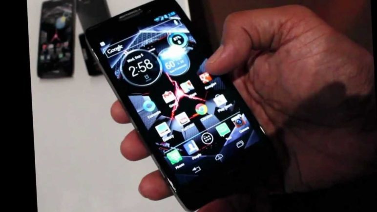 Droid Razr HD Demo