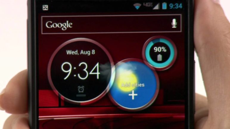 DROID RAZR M by MOTOROLA: New Software Enhancements