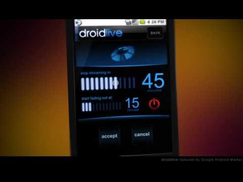 DroidLive Streaming Radio App