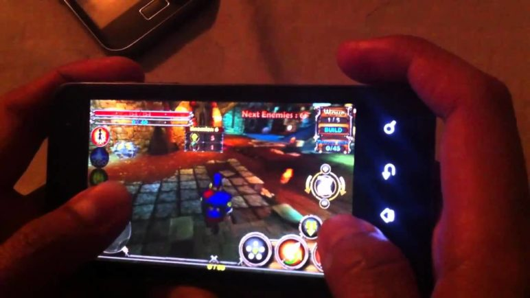 Dungeon Defenders: First Wave Deluxe HD on Optimus 2X