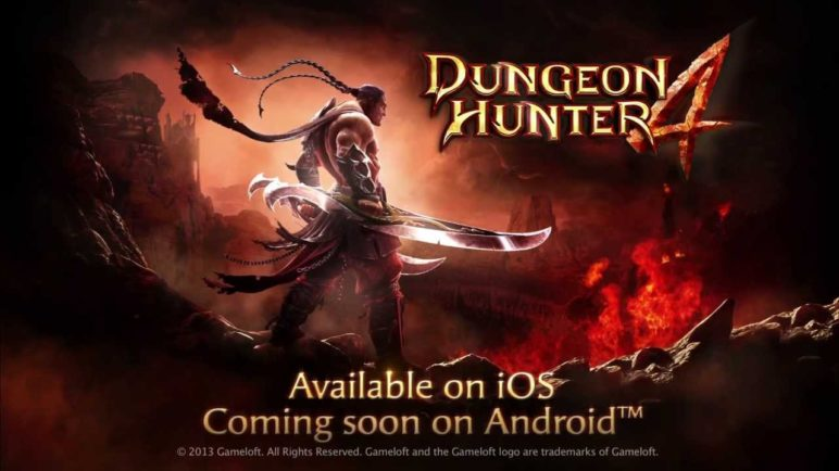 Dungeon Hunter 4 OFFICIAL Launch Trailer