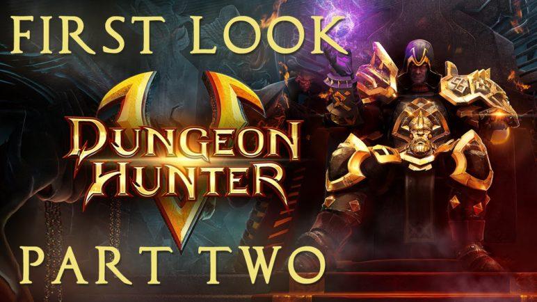 Dungeon Hunter 5 - First Look Pt. 2