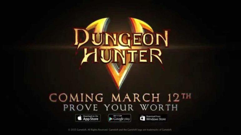 Dungeon Hunter 5 - The Legendary Hack'N'Slash Returns!