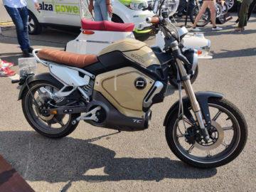 elektricky motocykl