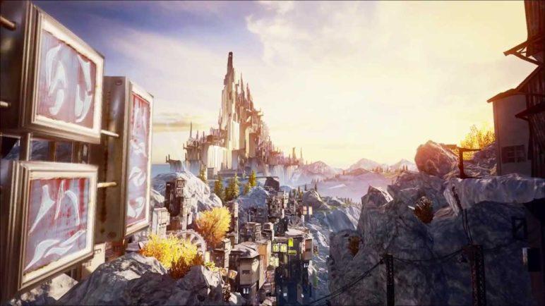 Epic Games Unreal Engine 4 demo