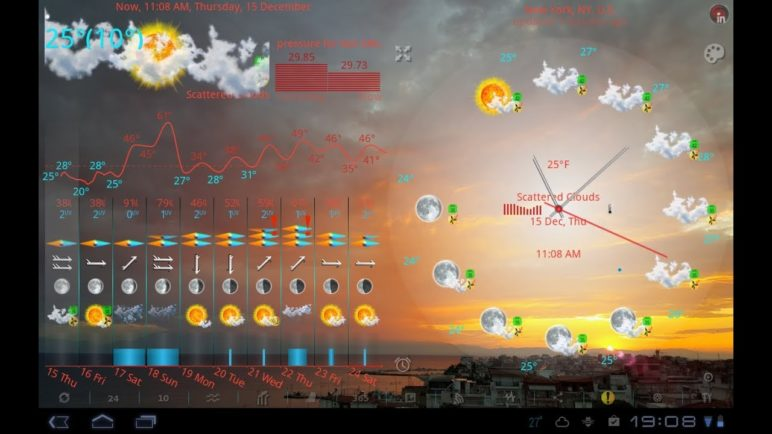 eWeather HD for Android