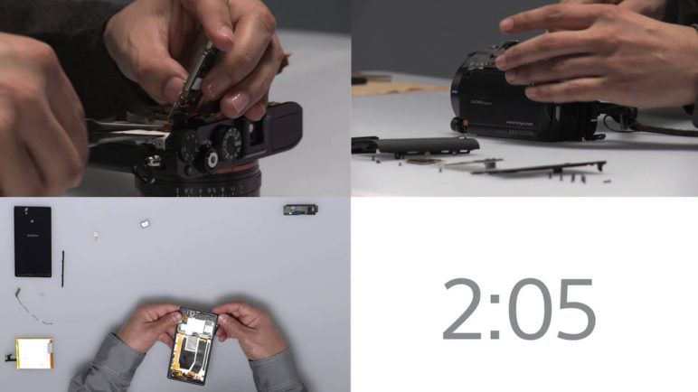 Exclusive Construction of New Sony CES Products