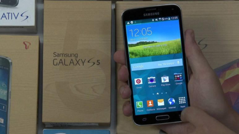 Exclusive Preview - Android L (Lollipop) on Samsung GALAXY S5