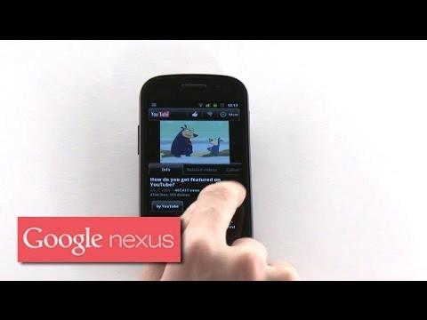 Explore Nexus S: Youtube 2.0