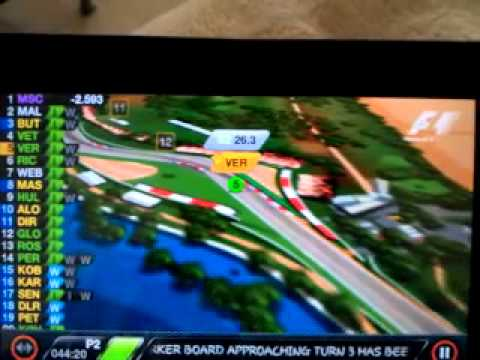 F1 Timing App official 2012