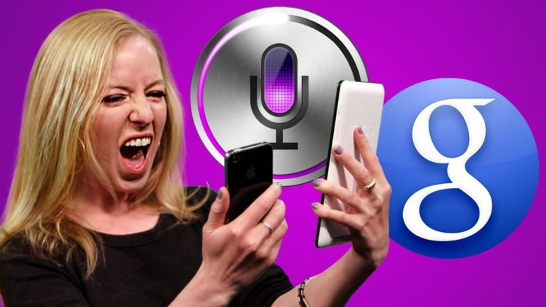 Face Off: Hilarious Siri Vs. Google Search