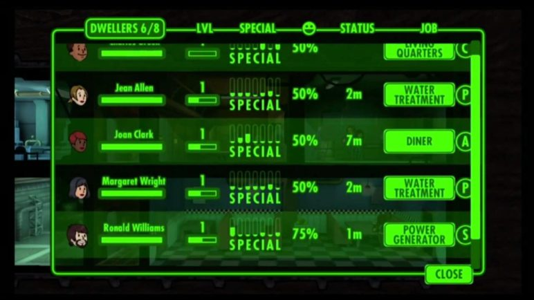 Fallout Shelter gameplay at E3 2015