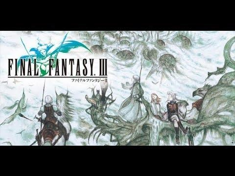 Final Fantasy 3 Gameplay Demo on Android Ouya iOS DS (English)