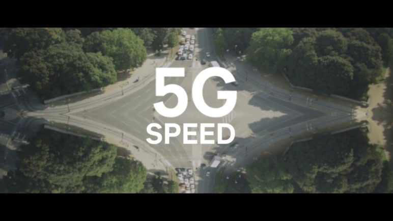 First 5G data connection with the Snapdragon X50 5G modem