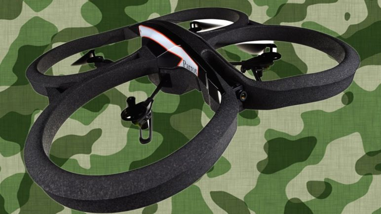 First Look: AR. Drone 2.0 at CES 2012