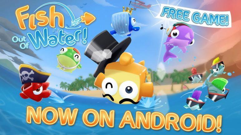 Fish Out Of Water - free on iOS & Android!