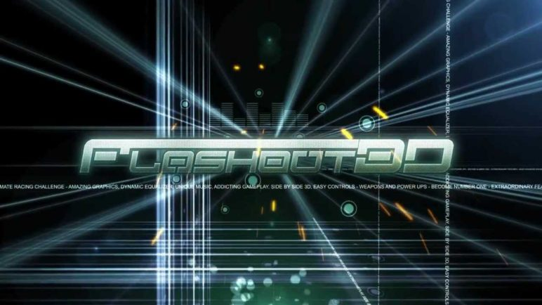 FLASHOUT 3D, FUTURISTIC RACING GAME FOR IOS, ANDROID, OUYA, MAC, PC! OFFICIAL DEBUT TRAILER!