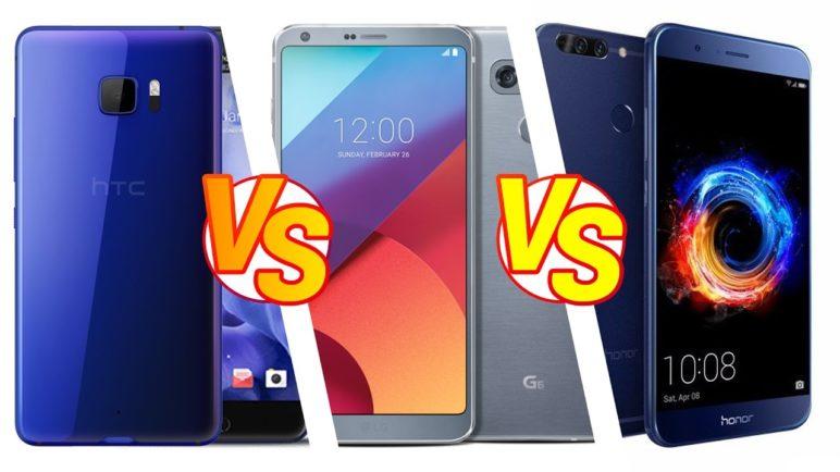 Foto test Honor 8 Pro vs. HTC U Ultra vs. LG G6