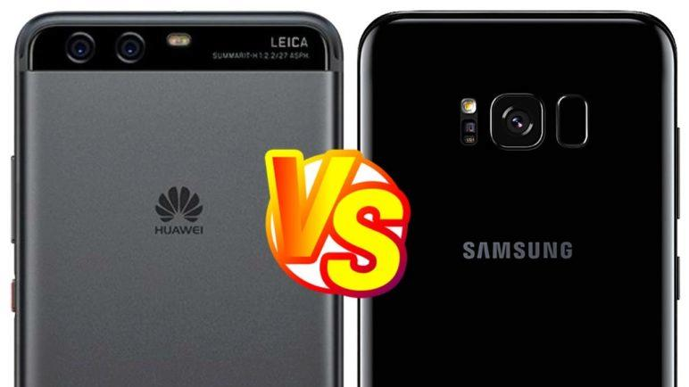 Foto test Huawei P10 vs Samsung Galaxy S8