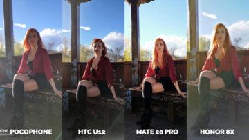 fototest Pocophone F1 vs. Huawei Mate 20 Pro vs. Honor 8X vs. HTC U12+ modelka