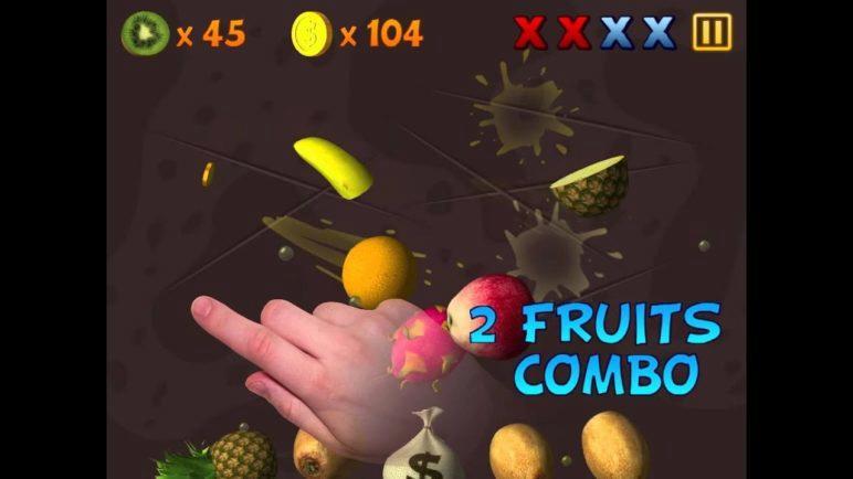 Fruit Slasher 3D gameplay