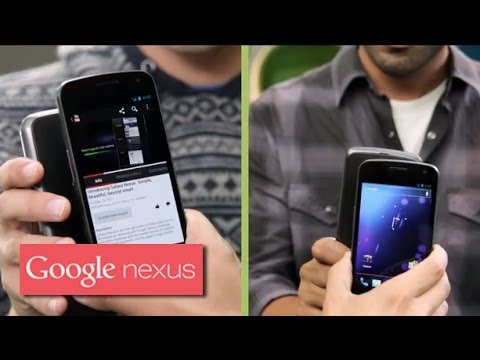 Galaxy Nexus: Android Beam