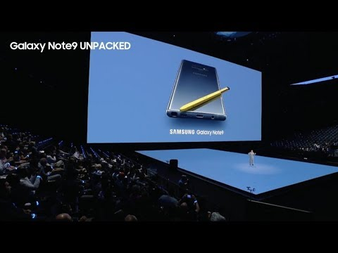Galaxy Note9 Unpacked: Official Replay