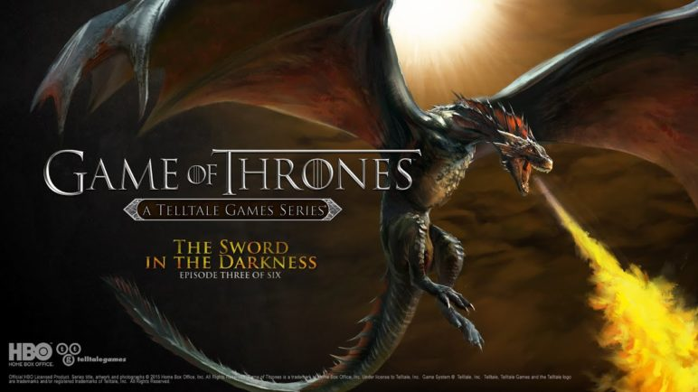 "Game of Thrones: A Telltale Games Series Episode Three: ""The Sword in the Darkness"" Trailer"