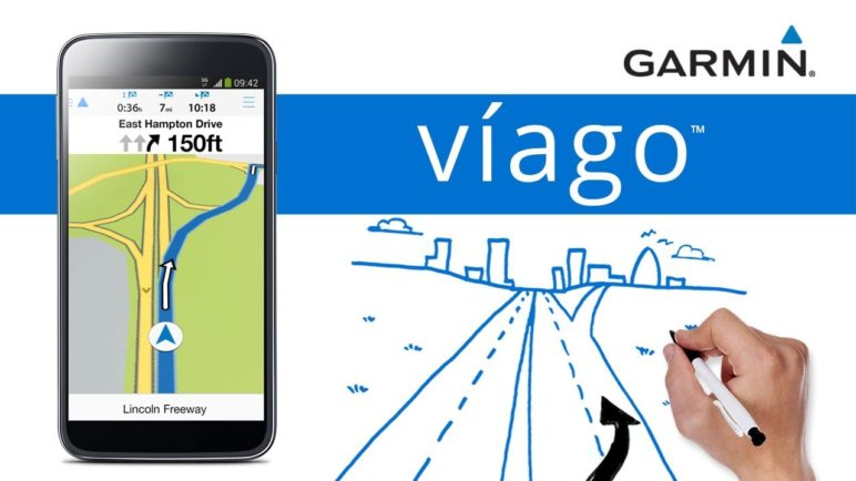 Garmin víago™ for Android -- Navigation app tailored to fit your needs