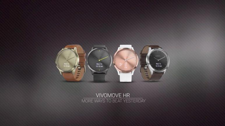 Garmin vívomove HR: Fashionably Fit Is Just a Tap Away