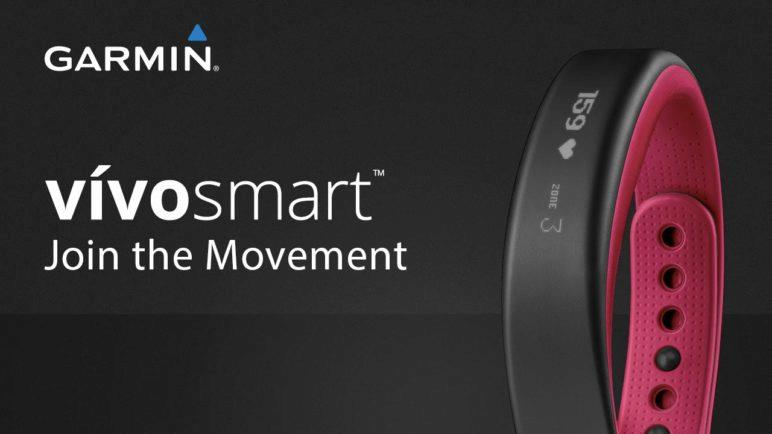 Garmin vívosmart fitness and activity tracker: Join the Movement