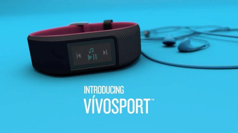 Garmin vívosport: With Built-in GPS, Work Out When You Want, Where You Want