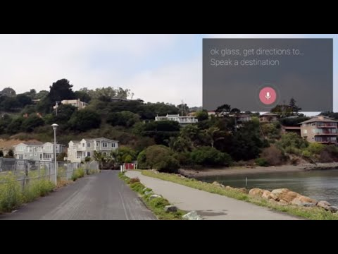Get Directions [through Google Glass]