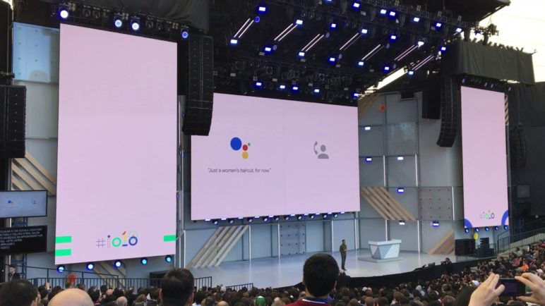 Google Duplex Demonstration